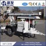 井戸(HF120W)のための2つの車輪の小さい掘削装置