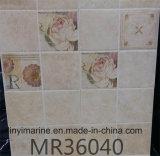mattonelle di ceramica lustrate bianche 300*450mm della parete di 300*600mm