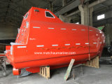 La versión de carga del bote salvavidas de caída libre con pescante de lanzamiento