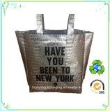 Hot la vente de l'éco- Friendly recyclé Sac shopping non tissé laminé avec logo personnalisé