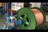 Het Nylon Jasje van Pu, de Lage Rokende Lijn van de Extruder van de Draad van het niet-Halogeen Photovoltaic
