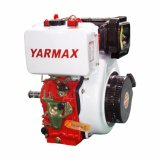 Yarmax単一シリンダー空気によって冷却されるディーゼル機関