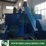 폐기물 플라스틱 조각 세척하고 재생하기를 위한 200-300kg/T 최신 세탁기