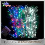 Luz ajustável da corda do Natal do diodo emissor de luz do RGB do controlador ao ar livre & interno