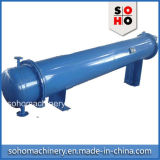 管の熱交換器のシェルおよび版の熱交換器