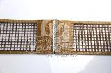 テフロンによって塗られるガラス繊維の開いたメッシュ生地のコンベヤーベルト
