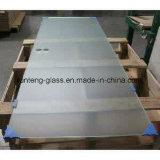 3-8mmの超明確な曇らされたサテンのガラス酸はガラスをエッチングした