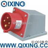 IP44 산업 표면에 의하여 거치되는 유형 플러그 및 소켓 (QX348)