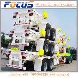 半中国の高品質40FTの三車軸ポートのヤードの使用のためのターミナルヤードのトレーラー