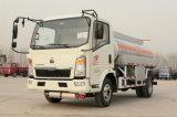 De Olietanker van de Tankwagen van de Brandstof 5500L van de lichte Vrachtwagen HOWO