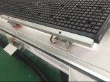 Porte faisant la gravure de commande numérique par ordinateur et la machine de découpage