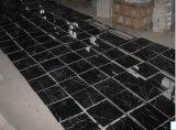 Черная мраморный плитка для плитки ванной комнаты