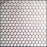 Folha de metal perfurada plástica galvanizada decorativa