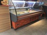 2.5M bouchers de verre courbé Réfrigérateurs commerciaux