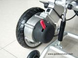 電動車椅子を折る金モーターと10f22
