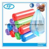 Sac d'ordures multicolore en plastique de HDPE