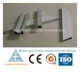 Aluminio extrusionado según dibujos de Atención al cliente