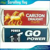 Bandeira à mão retrátil feita sob encomenda da bandeira do desdobramento (M-NF35P09006)