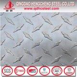 Galvanisierte Fluss-Stahl-Checkered Platte mit Riss-Absinken-Muster