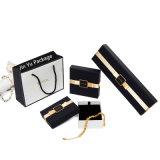 Wholesale sólido Paepr exquisito Regalo Joyeria Embalaje para collar