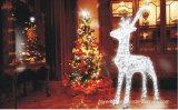 O motivo encantador do diodo emissor de luz do animal ilumina luzes quadradas da decoração do parque