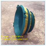 As peças do triturador de cone, côncavo e mantos - Peças sobressalentes e de desgaste