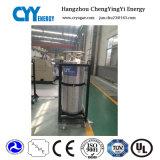 Cilindro industrial e médico do vaso Dewar do gás do dióxido de carbono do oxigênio do nitrogênio