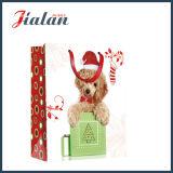 Собак и кошек 4c напечатано рождественских подарков магазинов упаковки бумажных мешков для пыли