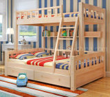 Solid Wooden Bed ROOM Bunk Beds Children Bunk Bed (M-X2696)