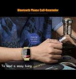 Telefone esperto do relógio de Mtk2502 Bluetooth com o monitor A9 da frequência cardíaca