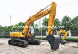 Vendite calde di mini escavatore di Sinomach escavatori idraulici del cingolo dell'attrezzatura per movimento di terra 1.2m3 del macchinario di costruzione da 25 tonnellate
