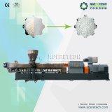 CaC03 plástico del tornillo gemelo que compone la línea de la protuberancia