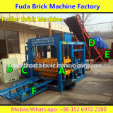 De Machine van het Blok van de aanhangwagen, de Machine van de Baksteen met Aanhangwagen, de Machine van de Baksteen van de Aandrijving