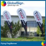 Shanghai Globalsign banderas de la hoja de alta calidad para eventos
