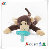 熱い販売のブラウン猿の調停者の柔らかい赤ん坊のおもちゃ