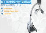 Terapia fotodinâmica do diodo emissor de luz PDT para o tratamento da pele