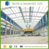 Tettoia della costruzione del magazzino della fabbrica della struttura d'acciaio dell'ampia luce