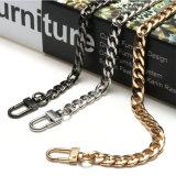 ハンドバッグのハンドルの肩ベルトのCrossbodyの金属の財布の鎖ストラップ