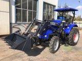 55HP 4WD 농업 바퀴 트랙터