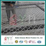 Frontière de sécurité enduite de cour de jeu du football de frontières de sécurité de maillon de chaîne de PVC