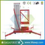 piattaforma di lavoro di alluminio di sollevamento dell'elevatore di altezza di 8m