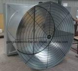 Emissões de equipamentos de ventilação de exaustão e almofada de resfriamento