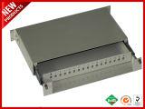 12 Fibras Terminação Óptica Caixa de montagem em rack