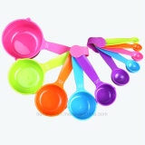 Conjunto de 10 piezas de plástico de cocina Cacito dosificador taza medidora