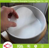 6インチのケーキの錫のライニングのための円形のPre-Cut硫酸紙の円