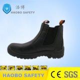 De zwarte Schoenen van de Veiligheid van de Injectie van Pu Enige