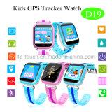 GPS van jonge geitjes het Slimme Horloge van de Drijver met GSM Sos die Functie voor het Horloge van de Jonge geitjes van Kinderen (D19) roepen