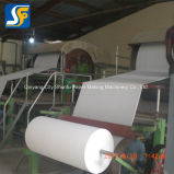Cadena de producción de la cortadora del rodillo del papel higiénico fabricación de papel del equipo
