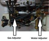 자동적인 시작 가스 온수기 덕트 굴뚝 유형 - 유리 (JSD-GL9)