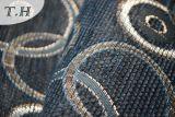 シュニールの円のジャカードソファーの布の染まる布(FTH31427)
